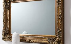 Baroque Mirror Gold
