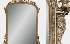 Victorian Style Mirrors for Bathrooms