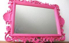 Large Pink Mirror