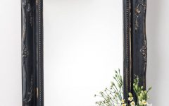Black Vintage Mirror