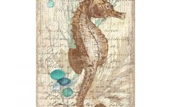 Sea Horse Wall Art