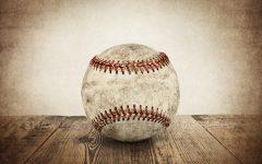 Vintage Baseball Wall Art