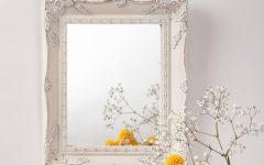 Cream Vintage Mirror