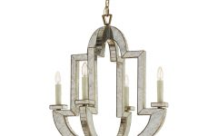 Antique Mirror Chandelier