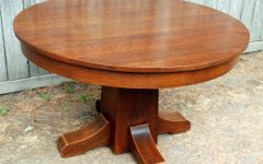 Craftsman Round Dining Tables