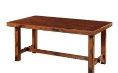 Adams Drop Leaf Trestle Dining Tables