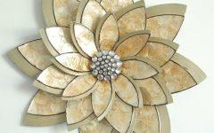 Abstract Flower Metal Wall Art
