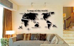Maps Wall Art