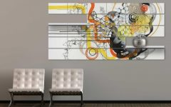 Abstract Office Wall Art