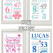 Personalized Nursery Canvas Wall Art