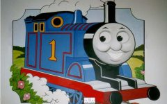 Thomas the Tank Wall Art