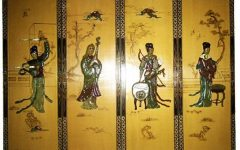 Asian Wall Art Panels