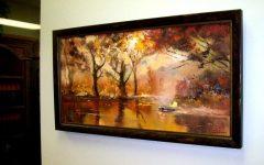 Brown Framed Wall Art