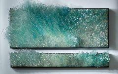 3D Glass Wall Art