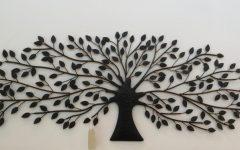 Metal Tree Wall Art Sculpture
