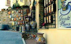 Italian Ceramic Outdoor Wall Art