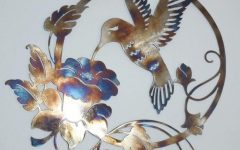 Hummingbird Metal Wall Art