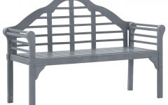 Walnut Solid Wood Garden Benches