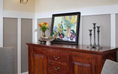 Warm Wood Sideboard for Dining Room Furniture