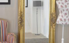 Shabby Chic Gold Mirror