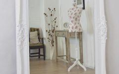 Shabby Chic White Mirrors