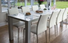 High Gloss Extendable Dining Tables