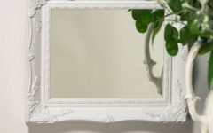 White Ornate Mirror