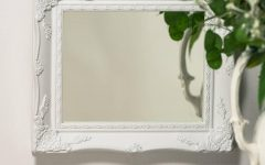 White French Mirror