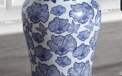 Wilde Poppies Ceramic Garden Stools