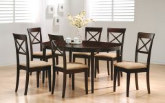 Crawford 6 Piece Rectangle Dining Sets