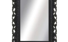Black Ornate Mirrors