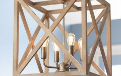 William 4-Light Lantern Square / Rectangle Pendants