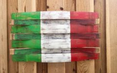 Italian Flag Wall Art