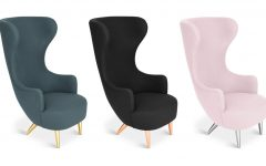 Lounge Chairs With Metal Leg