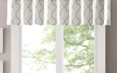 Luxury Light-Filtering Straight Curtain Valances