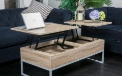 Coffee Tables With Rising Top
