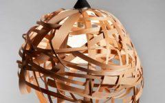 Wood Veneer Light Fixtures