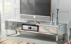 Mirrored TV Cabinets Furniture