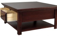 Square Coffee Tables With Storage Cubes