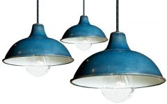 Blue Pendant Light Fixtures