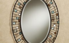 Oval Shaped Wall Mirrors