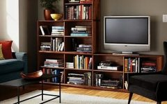TV Stands Bookshelf Combo