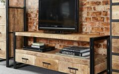 Vintage Industrial TV Stands