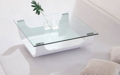 White and Glass Coffee Tables