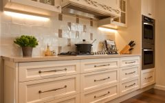 Wooden Kitchen Cabinet Wall Lighting