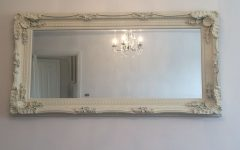 Shabby Chic Cream Mirror