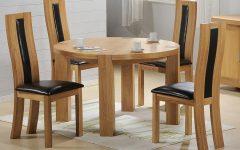 Zeus 41.34'' Beech Solid Wood Pedestal Dining Tables